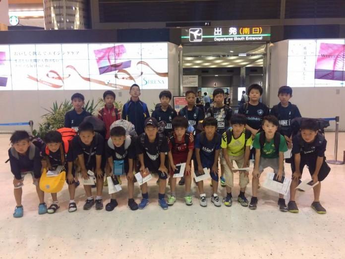 小学生のサッカー留学